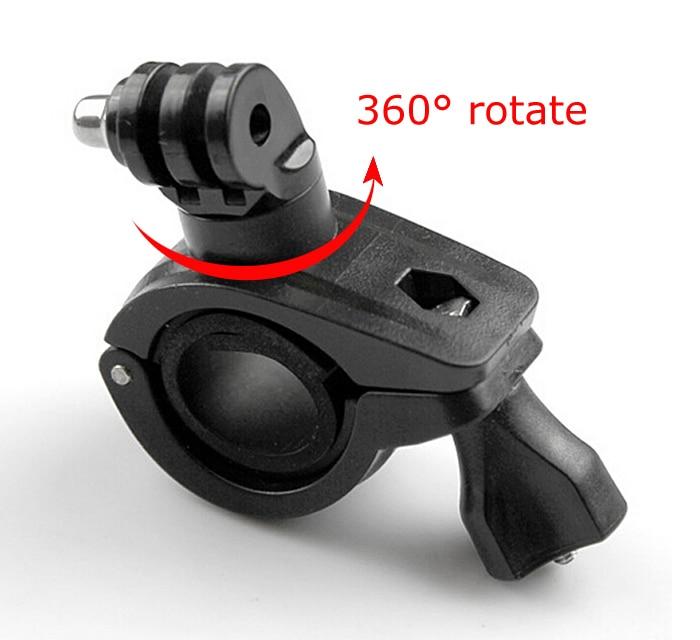 360 درجة دوران دراجة دراجة نارية المقود مقود حامل جبل ل Gopro بطل 8 7 6 5 4 SJCAM كاميرا الملحقات