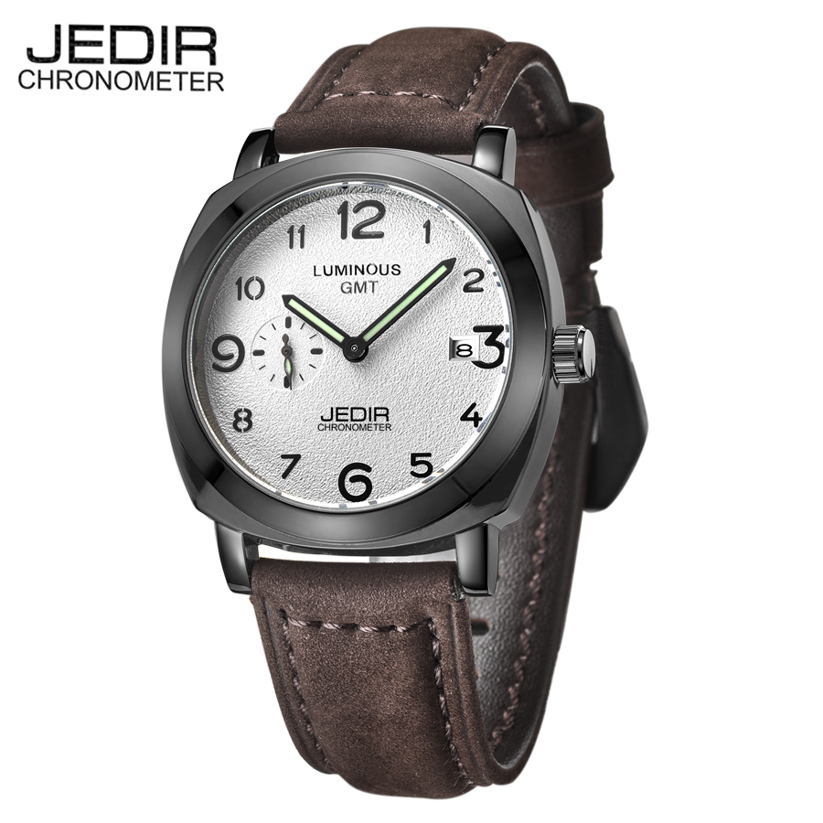 JEDIR Top Brand Luxury Watches Men Waterproof Shockproof Quartz Watch Auto Date Sports Military Wrist Watches erkek kol saatleri