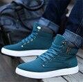 2016 мода новые заезды мужчин повседневная обувь Высокого качества матовый замшевые туфли