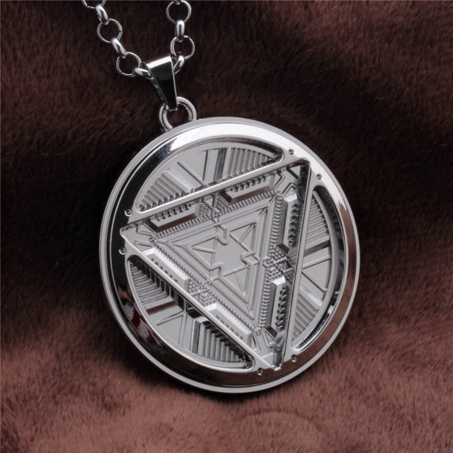 1pc iron man arc reactor jwelry necklace iron man pendent tony stark 1pc iron man arc reactor jwelry necklace iron man pendent tony stark arc reactor pendant necklace aloadofball Image collections