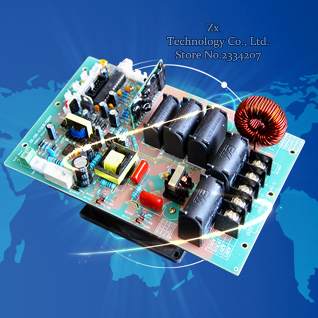 2.5KW / 220V digital electromagnetic heating motherboard 2.5kw electromagnetic induction heating Dashboard