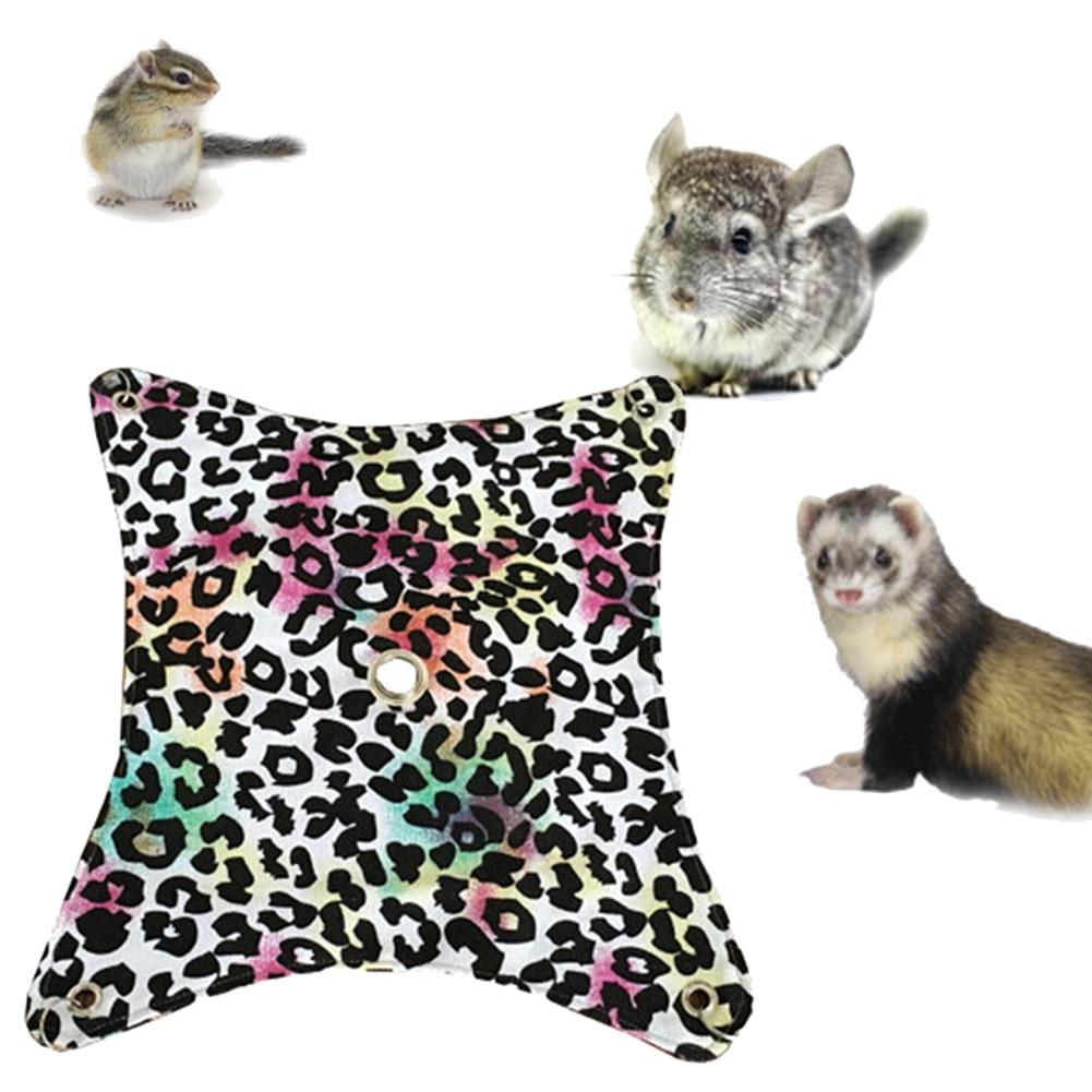 Leopard Pet Hamster Hammock Warm Hamster House Pet Hammock ...
