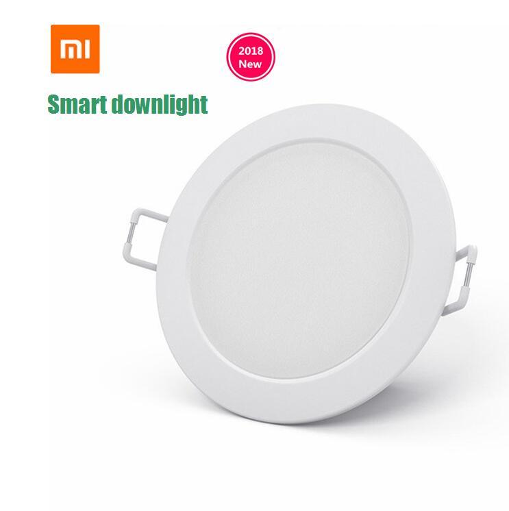Original xiaomi mijia smart downlight work with mi home app smart remote control white warm light