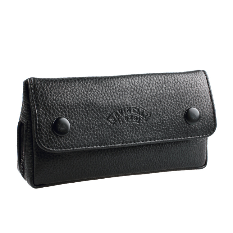 Brand 1pcs Soft PU Leather Bag Clutch Portable Weed Tobacco Smoking Pipe Case/Pouch Smoking Tools Accessories Travel Humidor