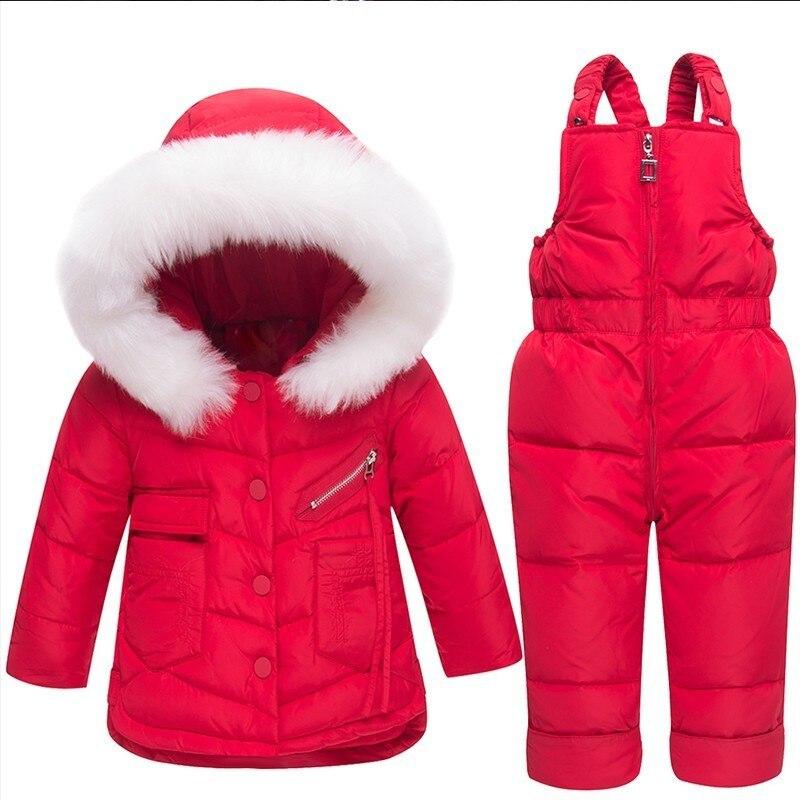 Теплый хлопок зимний костюм для малышей Одежда на молнии с капюшоном детская для девочек и мальчиков Зимняя одежда бутик детские пальто 90% б...