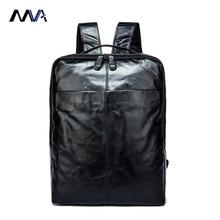 MVA  Leather Backpack Brand Men's Travel Bags Luggage School Bag Men Bag Genuine Leather Men Backpack Fashion Man Backpacks