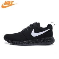 Nike ROSHE RUN ROSHE Original Nueva Llegada de Los Hombres Auténticos Zapatos Corrientes de las Zapatillas de deporte 511882-011