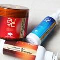 Cuidado del cabello set para marruecos el oro de aceite de argán una sola pieza champú de aceite de argán y 300 ml acondicionador para el cabello y 450 ml mascarilla para el pelo