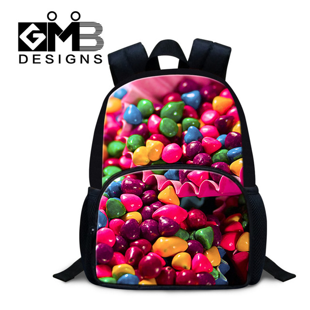 814a40769508 Dispalang Designer 12 Inch School Bags For Girls Boys Candy Kids Small Backpack  Shoulder Bag Children