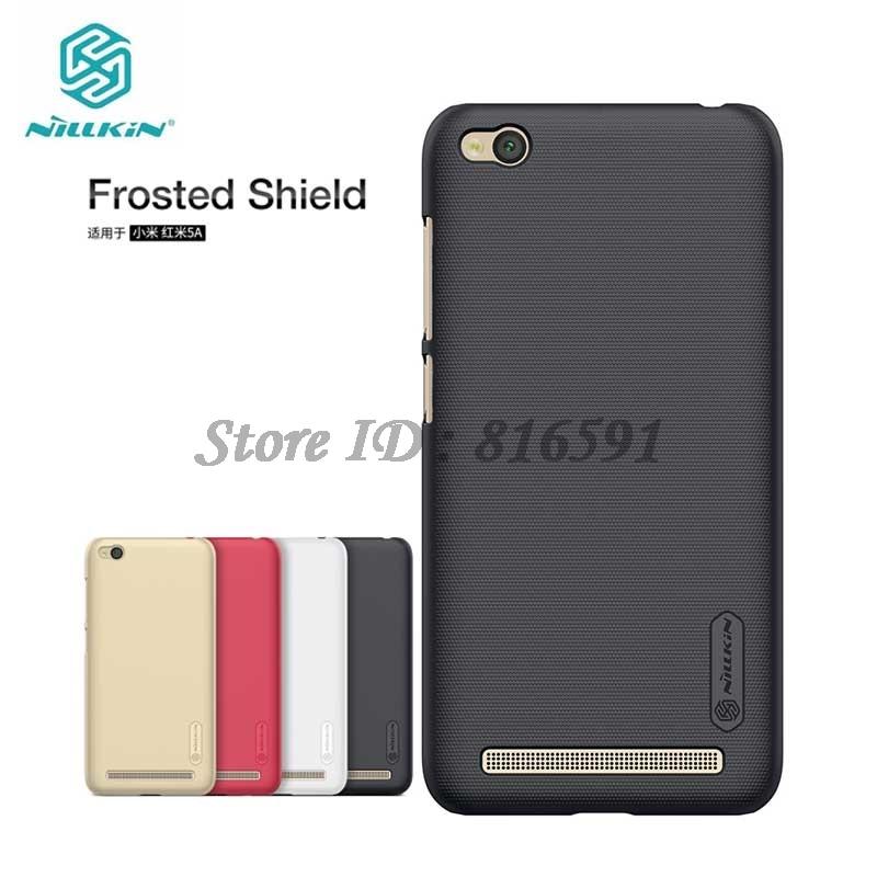 Nillkin Xiaomi Redmi 5A Case Frosted Shield Hard Back Cover Case for Xiaomi Redmi 5A 5.0 inch Gift Screen Protector