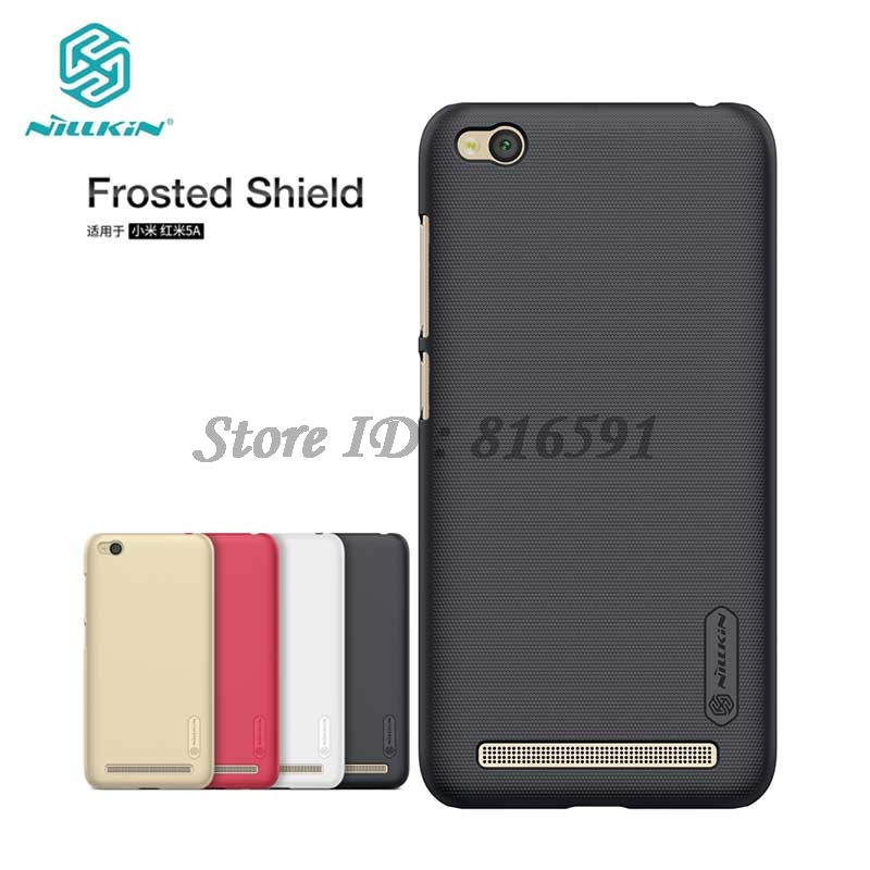 Nillkin Xiaomi Redmi 5A Case Frosted Shield Hard Back Cover Case for Xiaomi Redmi 5A 5.0 inch Gift Screen Protector