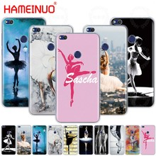 HAMEINUO Ballet Dance Girl Ballerina slippers Cover phone Case for huawei  Ascend P7 P8 P9 P10 P20 lite plus pro G9 G8 G7 2017 dbc8d41716e7