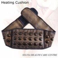 Electric Tourmaline Infrared Heating Massage Belt For Gift Tourmaline Heating Tourmaline Magnetic Therapy Neck Waist Belt