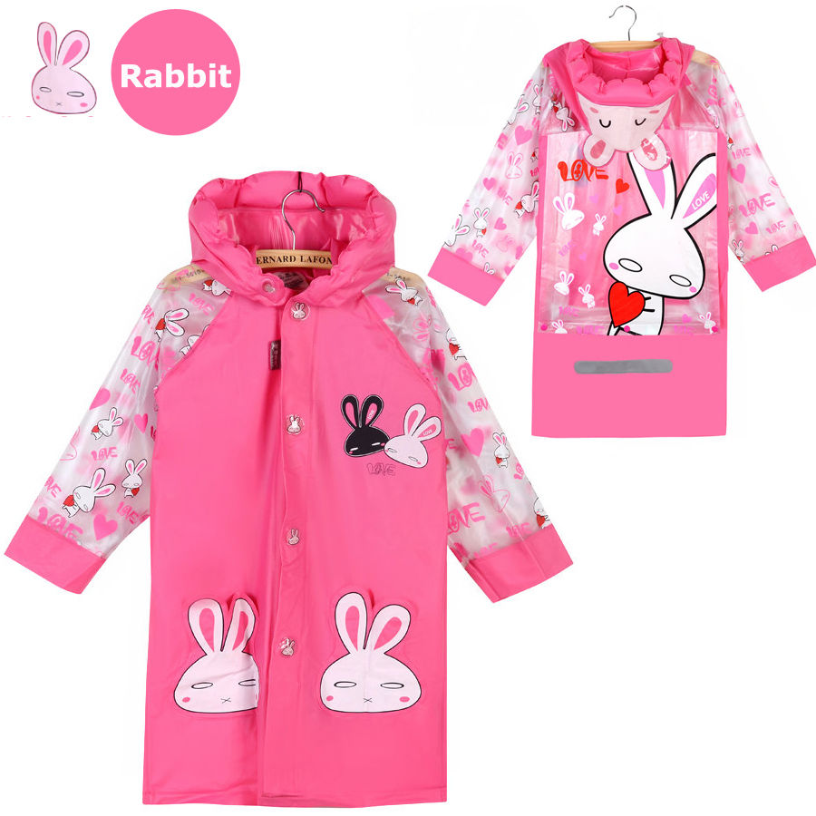 915f5824f Raincoat for Children Cartoon Kids Girls boy rainproof Rain Coat ...