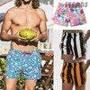 2019 شورت للرجال شورتات بيتش شورت سروال سحر الملاكم موجزات سروال جاف سريع pantalonetas hombre playa