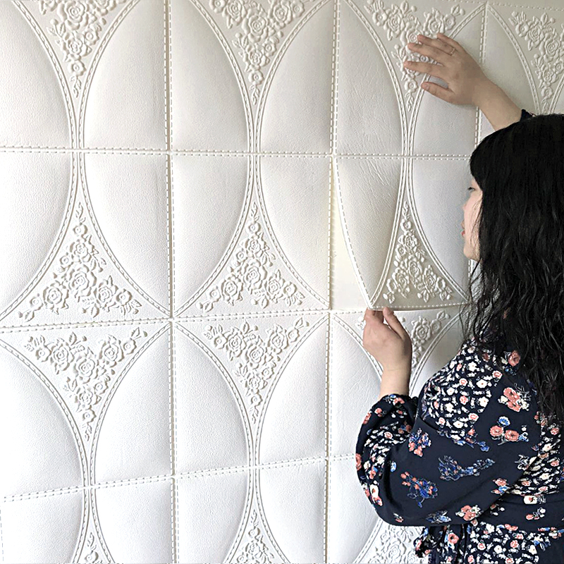 3d wallpaper wall stickers self-adhesive brick pattern 70*70cm living room bedroom decoration stickers TV background wall