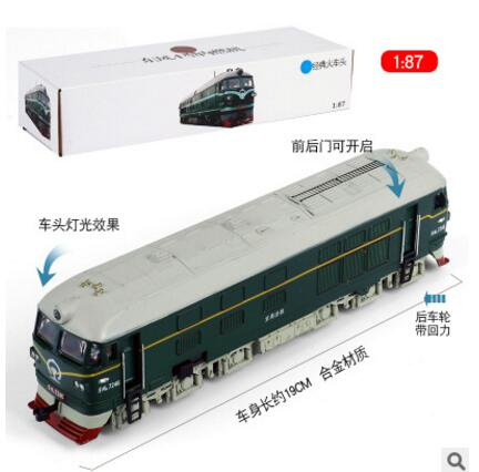Nouveau modèle de train à l'échelle 1/87 Hornby Lima ligne de passe-temps électrique moulé sous pression Locomotive Tram moteur modèle enfants jouets Trolley Bus Collection