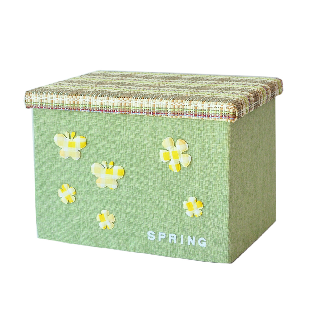 Perfect Hot Sale 28u002639L Cute Clothing And Toy Organizer Basket Polyester With Pretty  Beauty Flowers Storage Box Container