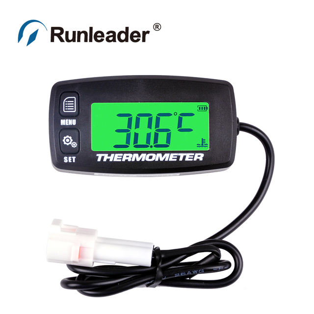 TS002 PT100 -20+300 TEMP sensor TEMP METER thermometer temperature meter for motorcycle snowmobile stump grinder mixer truck ATV