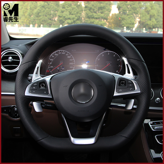 Stuurwiel Shift Paddle Extension Shifters Voor Mercedes Benz C