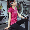 Compression Tights Women's T-shirt Dry Quick Short Sleeve T shirts Fitness Women Clothes Tees & tops