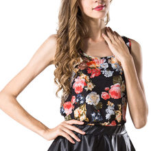 2019 Fashion Women Blouse O-Neck Printed Chiffon blusas chemise femme Floral Shirt feminina Tops de moda Hot sale(China)