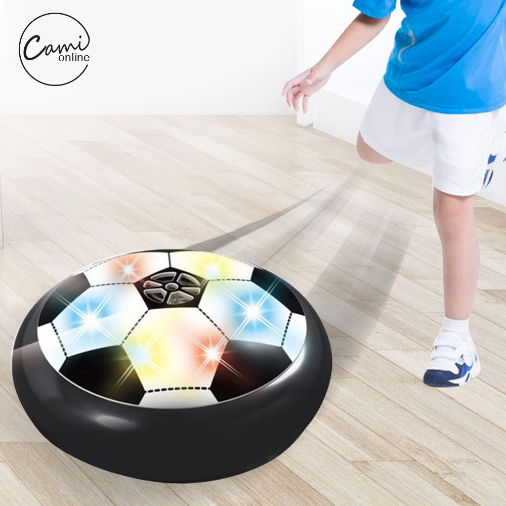 1Pcs Funny LED Light Flashing Soccer Ball Air Power Indoor Football Toy Hovering And Gliding Lighting Kids Classic Sports Toys