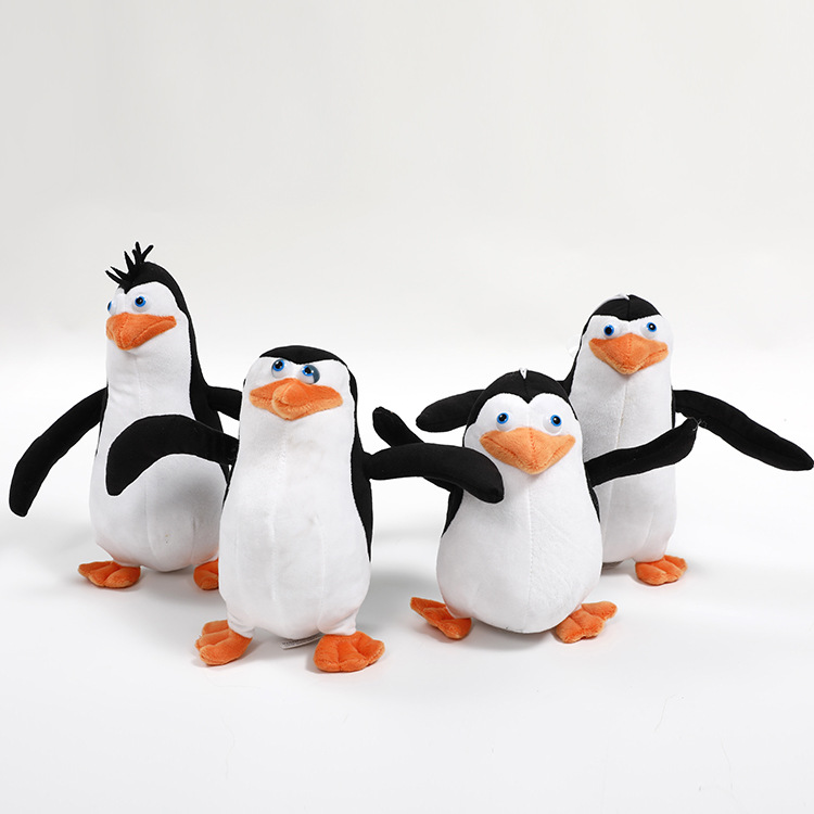 2018 new arrival pp cotton Plush toys Madagascar penguin animall stuffed plush doll kids toys for child gift hand puppet