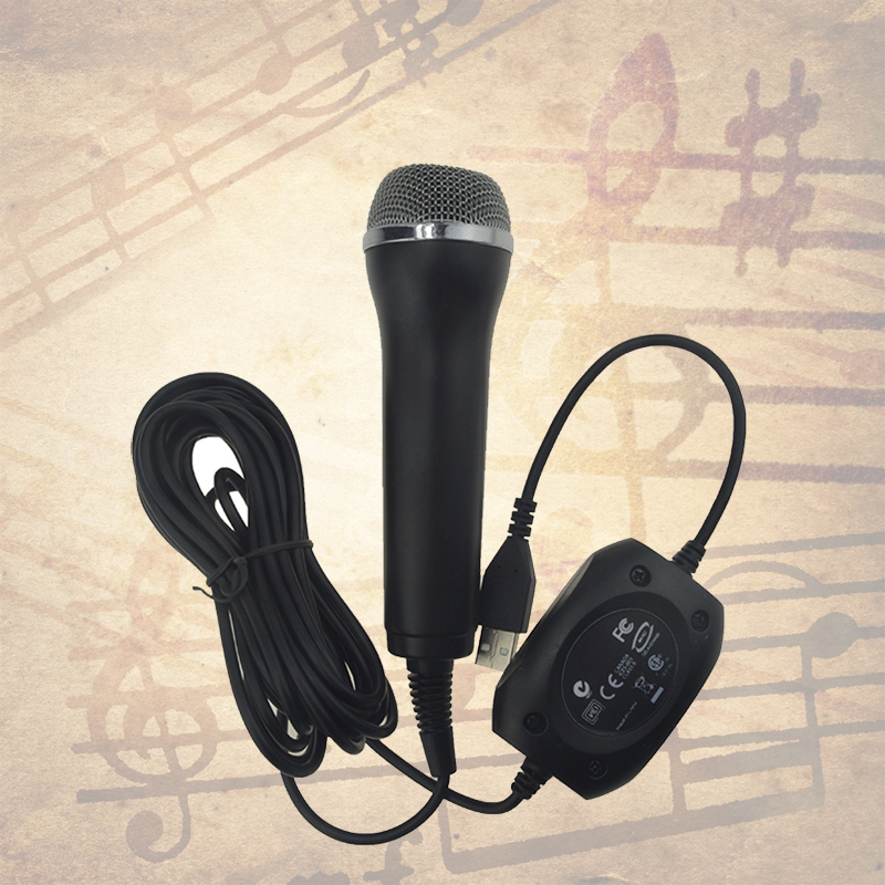 usb wired guitar hero hand held microphone for ps3 for ps4 for xbox one xbox one slim for xbox. Black Bedroom Furniture Sets. Home Design Ideas