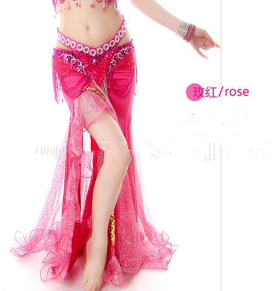 Высокое качество, новые юбки для танца живота, юбка для танца живота, костюм, тренировочное платье или представление