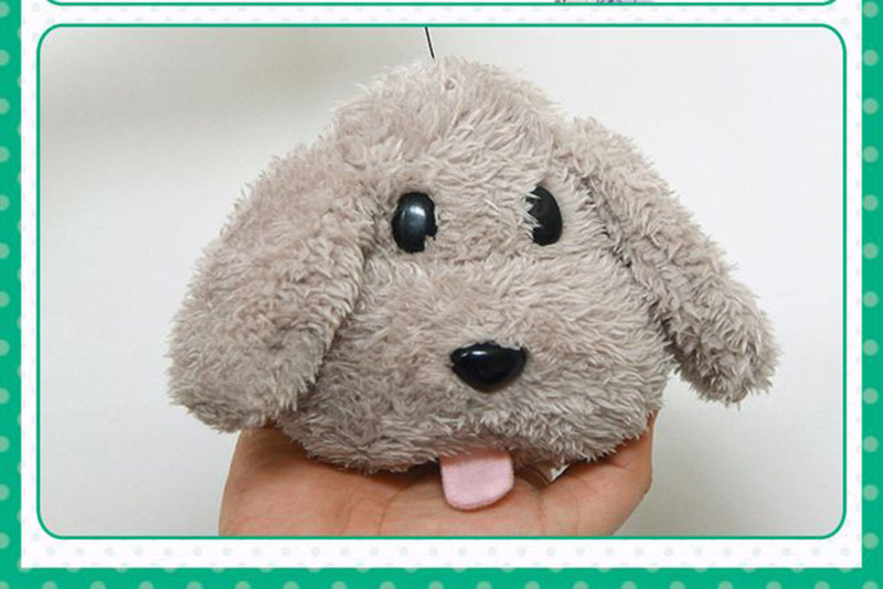 Cute Yuri on ice Victor Puppy Poodle Dog Plush Toy Makkachin Pet Dog Paper Box Keychain Pendant Cosplay Decoration Toy Kids Gift (11)