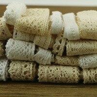 10 Yards 3 Series Of Garment Sewing Fabric DYI Cotton Crochet Lace Ribbon Ornaments
