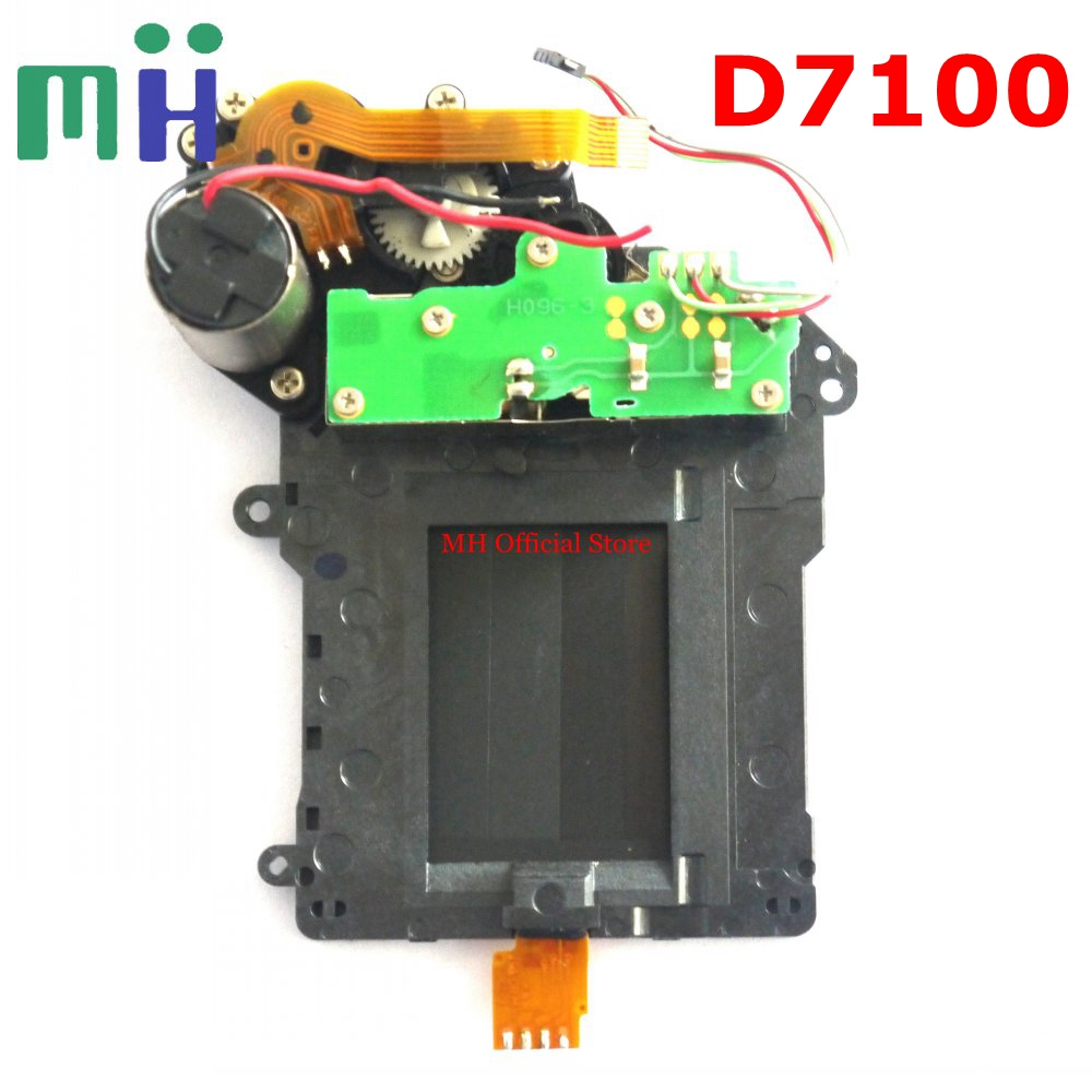 For Nikon D7100 Shutter Unit with Motor Blade Curtain Camera Replacement Unit Repair Part