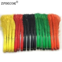 Inch32~36 80 90CM Beautifully Dyed Tails Peacock Feathers