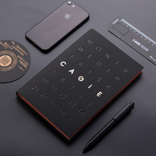 Agenda 2019 Organizer Diary A5 Black Notebook With Pen Stationery Weekly Monthly Travel Diary Journal Business Note Book For Men a5 notebook agenda 2019 planner organizer dividers weekly monthly personal travel diary journal cute business note books