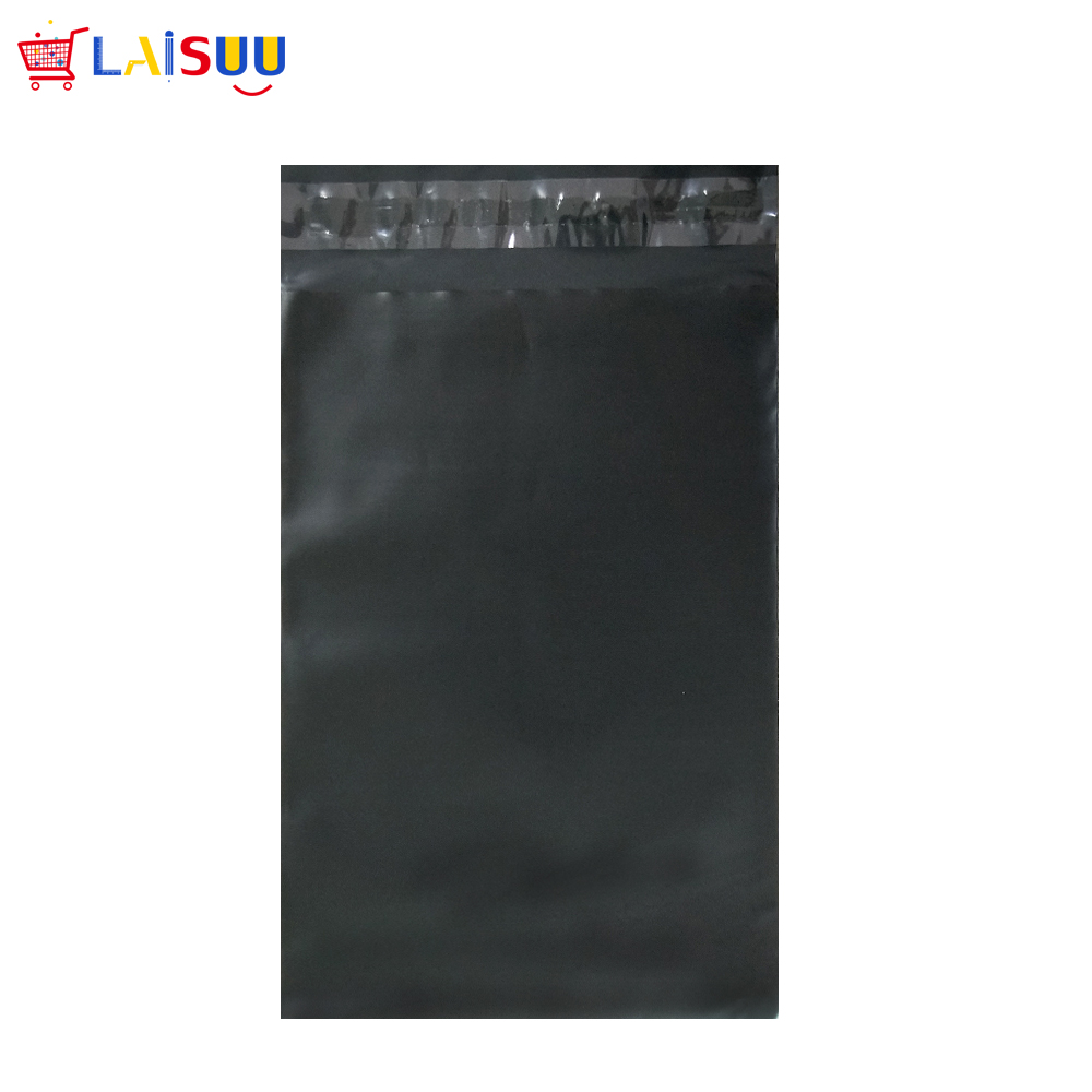 все цены на Black Poly Mailers Bags 50pcs 7.5x10.5 inch/190*270mm Poly Mailers Envelopes Bags With Self-sealing Strip black Poly jiffy Bags онлайн
