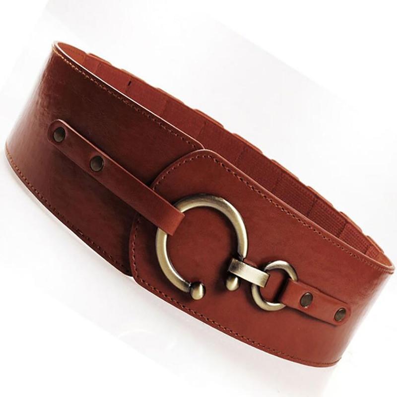 Belts For Women Fashion Decorative Elastic Girdle Hooks Fashion Women Belt Match Skirt Accessories