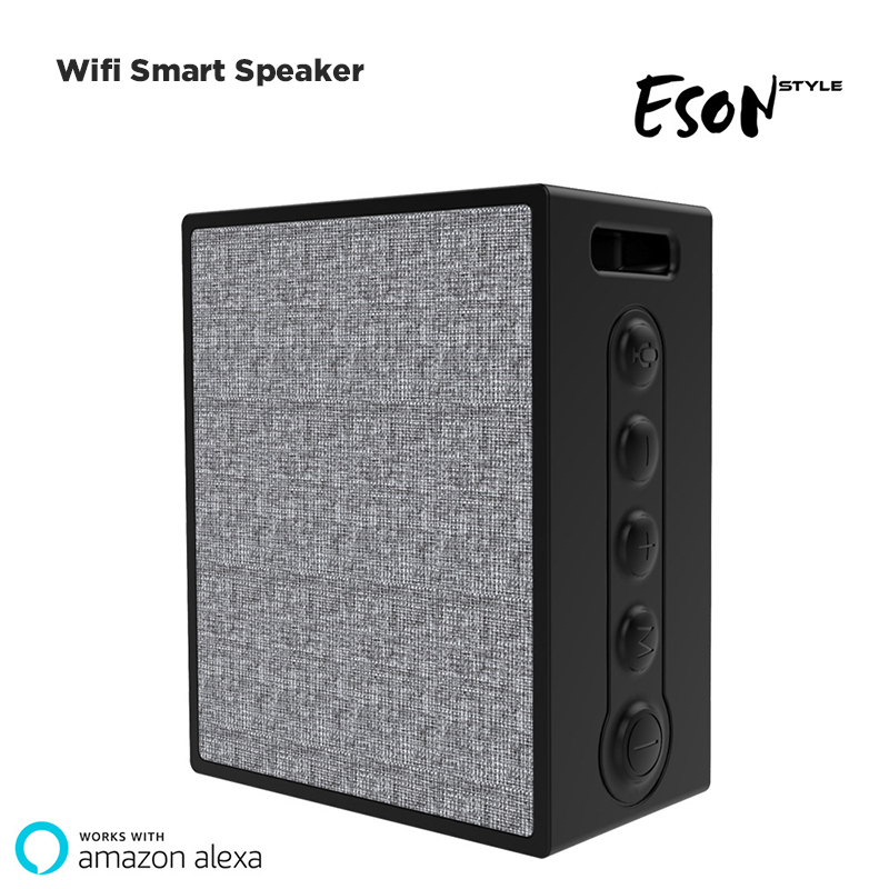 Smart Bluetooth Speaker Alexa AI Wifi Wireless Speaker Waterproof IPX 6 Support FM Radio Voice Contorl все цены
