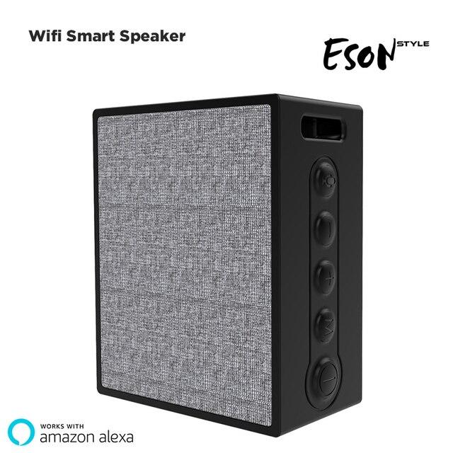 Alexa Bluetooth Speaker >> Smart Bluetooth Speaker Alexa Ai Wifi Wireless Speaker Waterproof