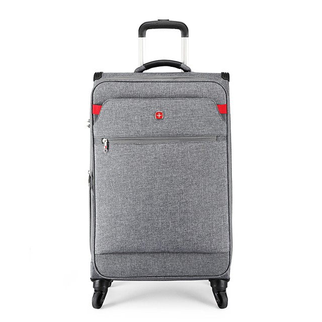 2019 New Men Retro 20/24/28 Inch Rolling Luggage Women classical Spinner brand Travel Suitcase Unisex business trolley luggage 1