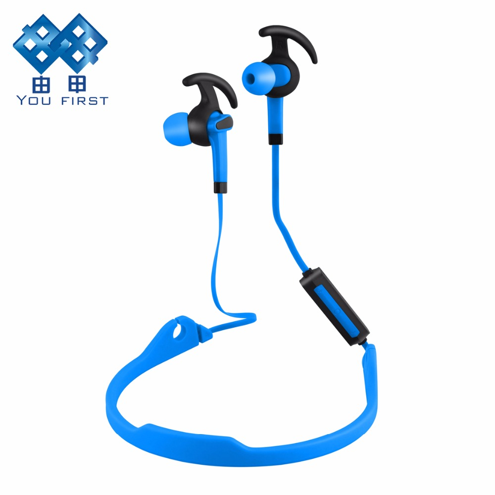 Bluetooth Earphone Sport Wireless Neckband Stereo Headphone Running Handsfree Noise Canceling Headset With Microphone For iPhone syllable a6 bluetooth 4 1 stereo earphone neckband wireless hifi music headset handsfree sport headphone with microphone