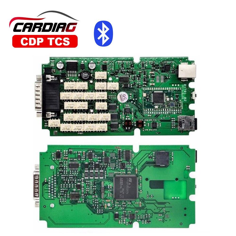 Prix pour Super qualité CDP TCS Pro Plus Avec bluetooth 2015. R3 logiciel avec keygen même comme MVD Multidiag pro OBD2 OBDII Diagnostic outil