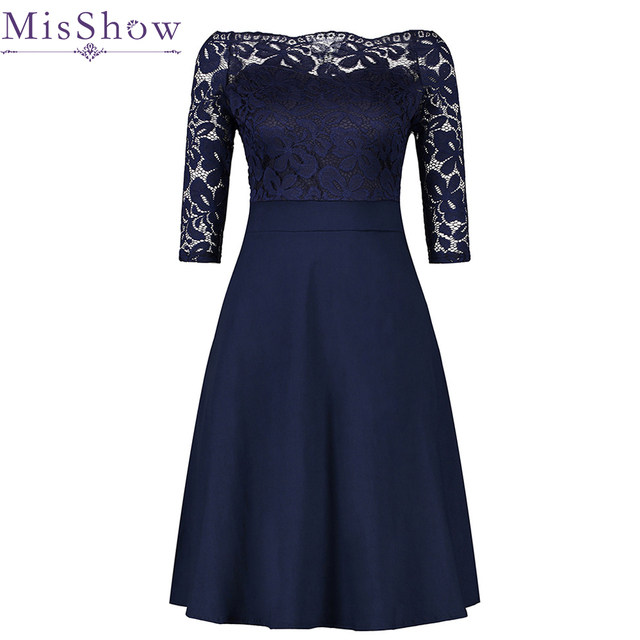 Cheap Navy Blue Cocktail Dresses Elegant Short Little Black Dress