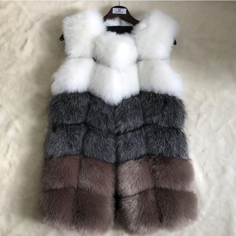 HONGZUO Γούνινα παλτά γυναικών Faux Fox - Γυναικείος ρουχισμός - Φωτογραφία 4