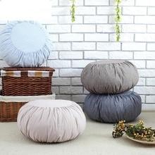 Япония и Корея хлопок и лен подушка с изображением тыквы Подушка футон съемный моющийся диван подушки татами медитация подушка для занятий йогой
