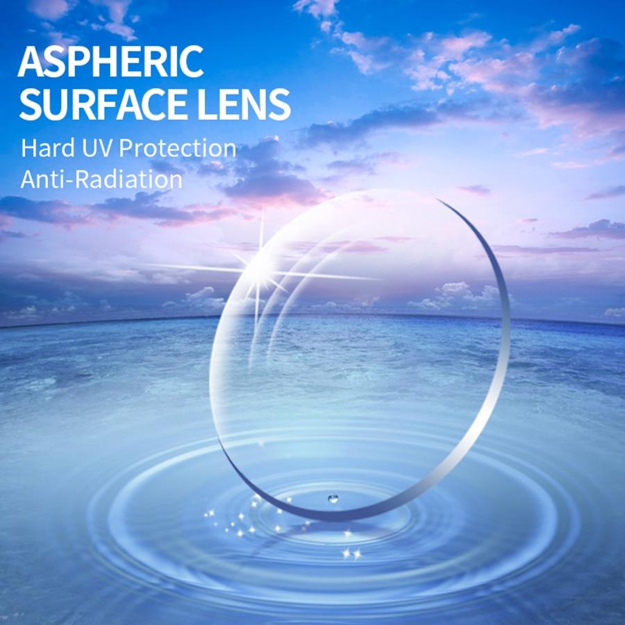 1.56 Prescription CR-39 Resin Aspheric Glasses Lenses Myopia Hyperopia Presbyopia Optical Lens