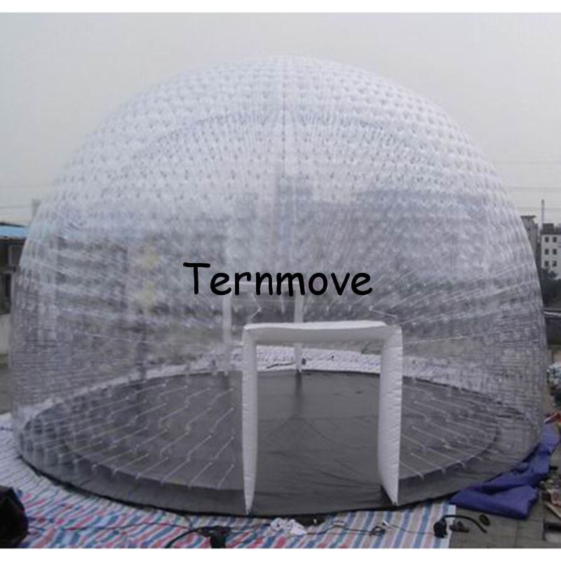 inflatable Family Camping Backyard Transparent tent,giant inflatable dome tent,Inflatable wedding party Tents For Exhibitions monkey foil balloon auto seal reuse party wedding decor inflatable gift for children