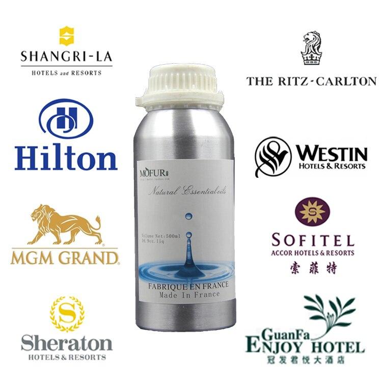500ml  Refill Essential Oil Special For Scent Delivery System Mariott Shangri-la Riz Carlton Hilton Hotel White Tea