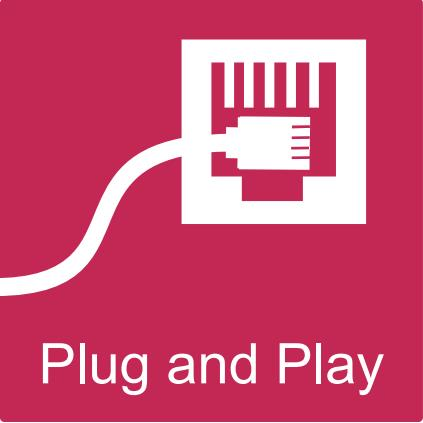 Switch ethernet, comutador rápido de mesa, com