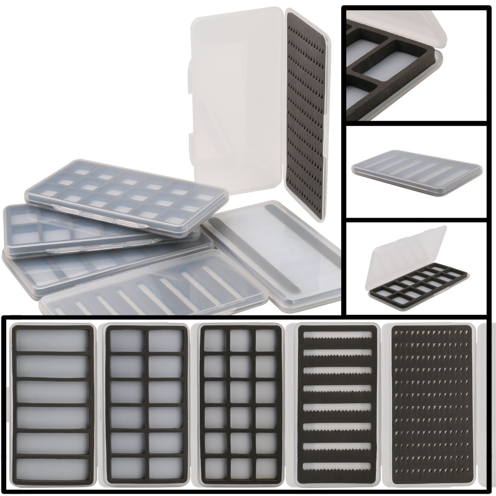 3 Pack Strike Fly Co Large Slim Silicone Insert Fly Box